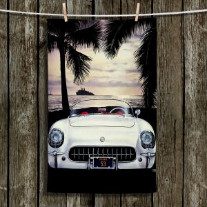 Unique Hanging Tea Towels | Mark Watts - Dreamer | Cars Ocean