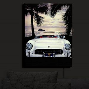 Nightlight Sconce Canvas Light | Mark Watts - Dreamer | Cars Ocean