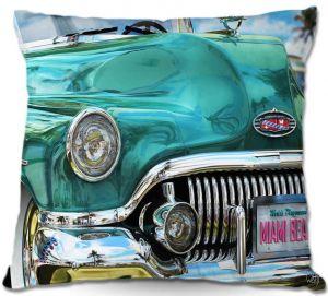 Throw Pillows Decorative Artistic | Mark Watts Miami Beach