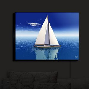 Nightlight Sconce Canvas Light | Mark Watts - Sail