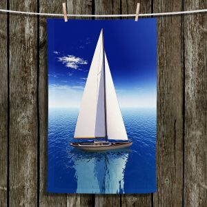 Unique Hanging Tea Towels | Mark Watts - Sail | Boats Water