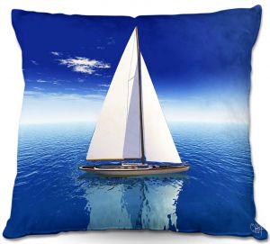 Decorative Outdoor Patio Pillow Cushion | Mark Watts - Sail