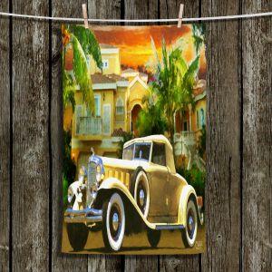 Unique Hanging Tea Towels | Mark Watts - Serene Sunrise | Cars Landscapes