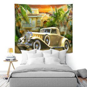 Artistic Wall Tapestry | Mark Watts Serene Sunrise