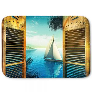 Decorative Bathroom Mats | Mark Watts - Set Sail