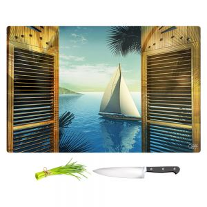 Artistic Kitchen Bar Cutting Boards | Mark Watts - Set Sail