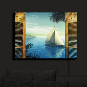 Nightlight Sconce Canvas Light | Mark Watts's Set Sail