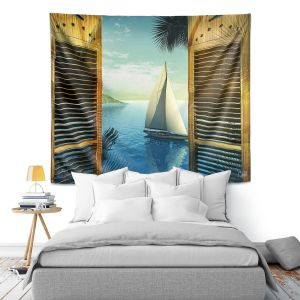 Artistic Wall Tapestry | Mark Watts Set Sail