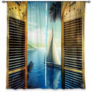 Decorative Window Treatments | Mark Watts Set Sail
