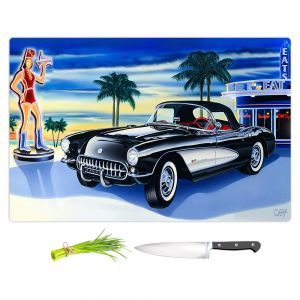 Artistic Kitchen Bar Cutting Boards | Mark Watts - Some Fries With That Shake