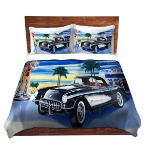 Artistic Duvet Covers and Shams Bedding   Mark Watts - Some Fries With That Shake