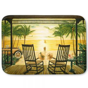 Decorative Bathroom Mats | Mark Watts - Sunset Serenade