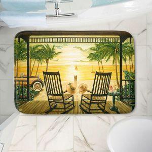 Decorative Bathroom Mats | Mark Watts - Sunset Serenade