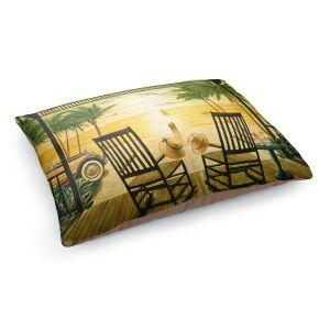 Decorative Dog Pet Beds | Mark Watts's Sunset Serenade
