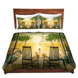 Artistic Duvet Covers and Shams Bedding | Mark Watts - Sunset Serenade