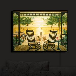 Nightlight Sconce Canvas Light | Mark Watts - Sunset Serenade
