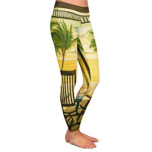 Casual Comfortable Leggings | Mark Watts Sunset Serenade