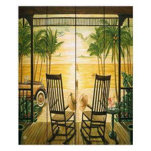 Decorative Wood Plank Wall Art | Mark Watts Sunset Serenade