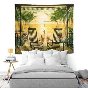 Artistic Wall Tapestry | Mark Watts Sunset Serenade