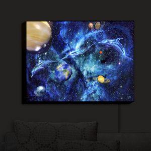 Nightlight Sconce Canvas Light | Mark Watts - Symphony of Space