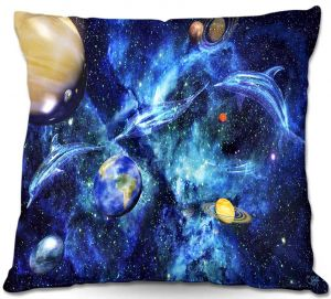 Throw Pillows Decorative Artistic | Mark Watts's Symphony of Space
