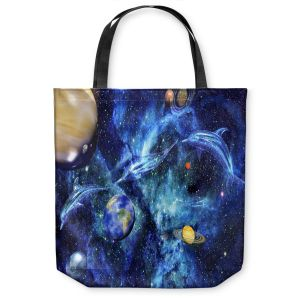 Unique Shoulder Bag Tote Bags | Mark Watts Symphony of Space