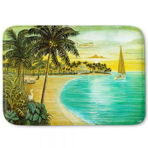 Decorative Bathroom Mats | Mark Watts - Tropic Cove