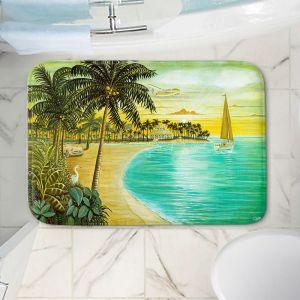 Decorative Bathroom Mats | Mark Watts - Tropic Cove