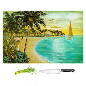 Artistic Kitchen Bar Cutting Boards   Mark Watts - Tropic Cove