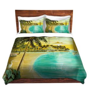 Artistic Duvet Covers and Shams Bedding | Mark Watts - Tropic Cove