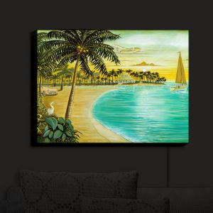 Nightlight Sconce Canvas Light | Mark Watts's Tropic Cove