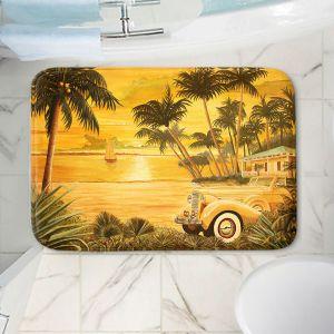 Decorative Bathroom Mats | Mark Watts - Tropical Getaway