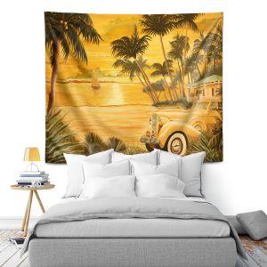 Artistic Wall Tapestry | Mark Watts Tropical Getaway
