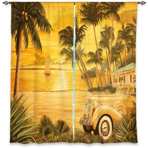 Decorative Window Treatments | Mark Watts Tropical Getaway