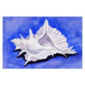 Decorative Floor Covering Mats | Marley Ungaro - Alabaster Murex | Ocean seashell still life nature