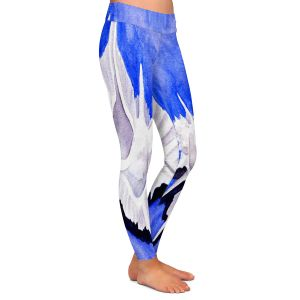 Casual Comfortable Leggings | Marley Ungaro - Alabaster Murex | Ocean seashell still life nature
