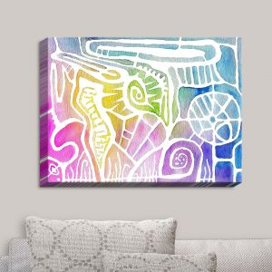 Decorative Canvas Wall Art | Marley Ungaro - All Connected | Abstract Colorful