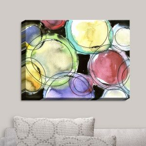 Decorative Canvas Wall Art   Marley Ungaro - Artsy Dizzy Spell