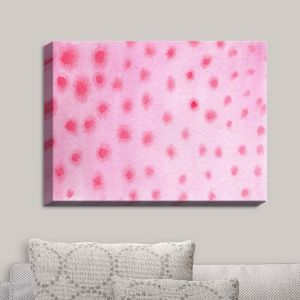 Decorative Canvas Wall Art | Marley Ungaro - Artsy Pink Spots