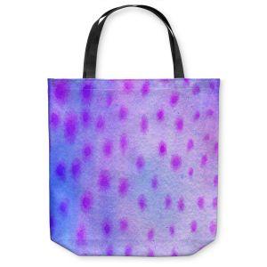 Unique Shoulder Bag Tote Bags   Marley Ungaro Artsy Purple Spots