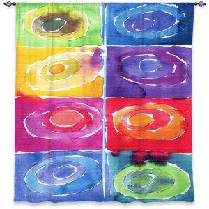 Decorative Window Treatments | Marley Ungaro Artsy Rainbow Box