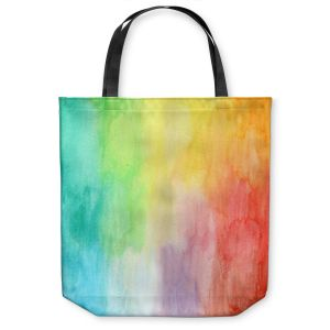 Unique Shoulder Bag Tote Bags   Marley Ungaro Artsy Rainbow Wash
