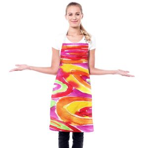 Artistic Bakers Aprons | Marley Ungaro - Artsy Tutti Frutti | Cool Funky Pattern