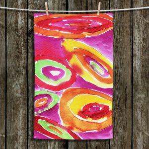 Unique Hanging Tea Towels | Marley Ungaro - Artsy Tutti Frutti | Cool Funky Pattern