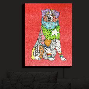 Nightlight Sconce Canvas Light | Marley Ungaro - Australian Shepherd Watermelon