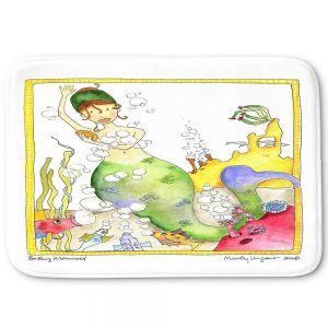 Decorative Bathroom Mats | Marley Ungaro - Bathing Mermaid