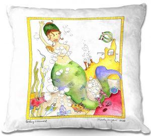 Throw Pillows Decorative Artistic | Marley Ungaro Bathing