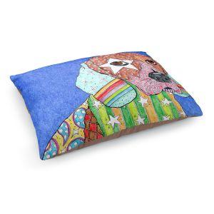 Decorative Dog Pet Beds | Marley Ungaro Beagle Dog Blue