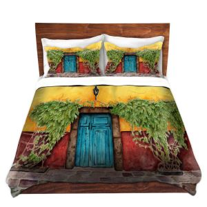 Artistic Duvet Covers and Shams Bedding | Marley Ungaro - Blue Door