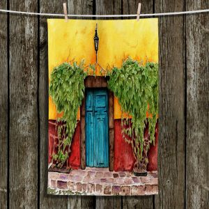Unique Hanging Tea Towels | Marley Ungaro - Blue Door | Places Landscapes
